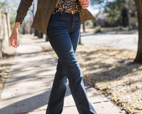 Flattering Jeans with a Flare