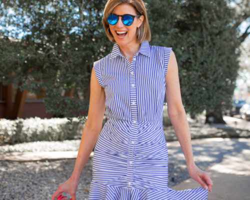 Bankers Stripes – The New Shirt Dress