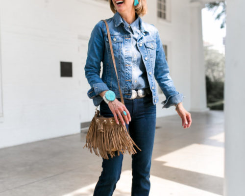 Denim with a Western Flare
