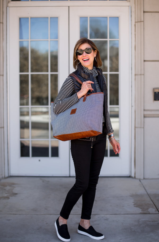 The Barrington St Anne tote is great for work or travel