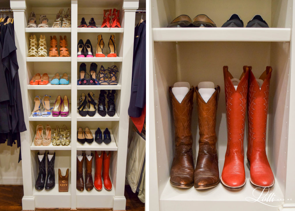 shoe organizer , dallas blogger, over 50 blogger, closet organizer