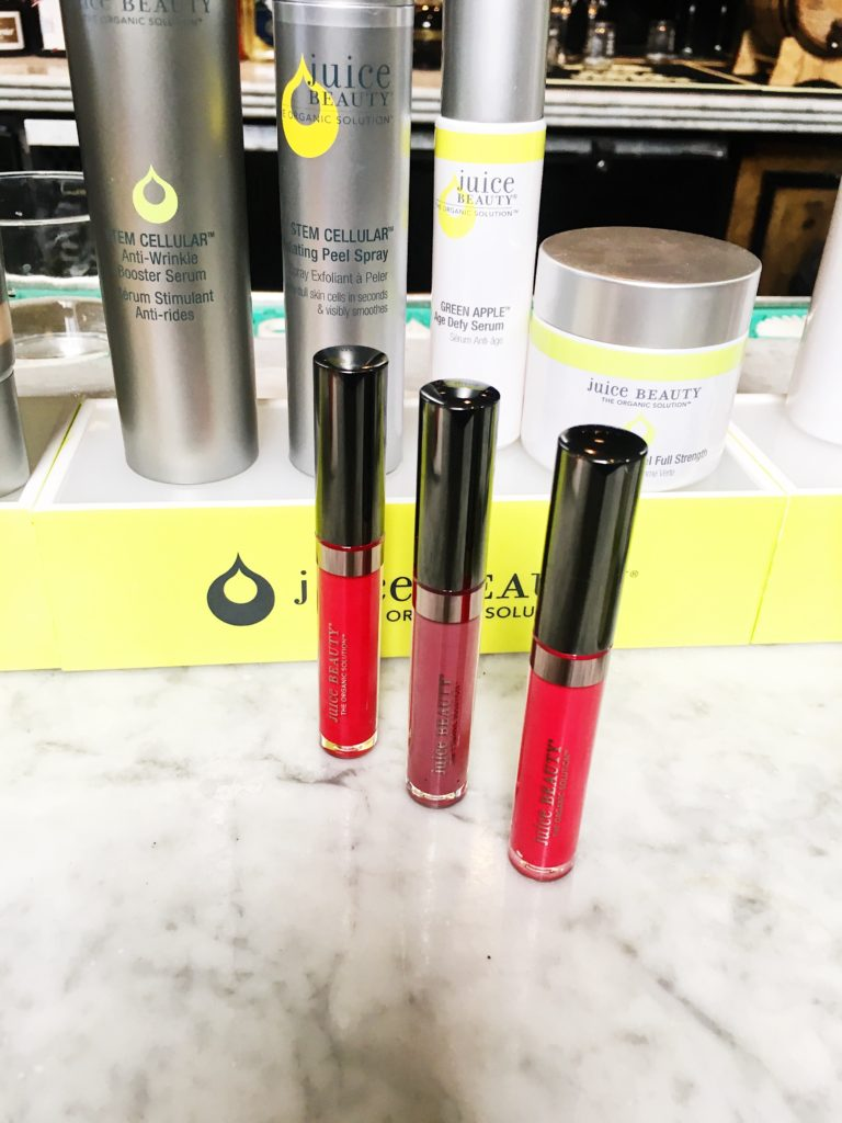 Juice Beauty phyla-pigments liquid lip colors.