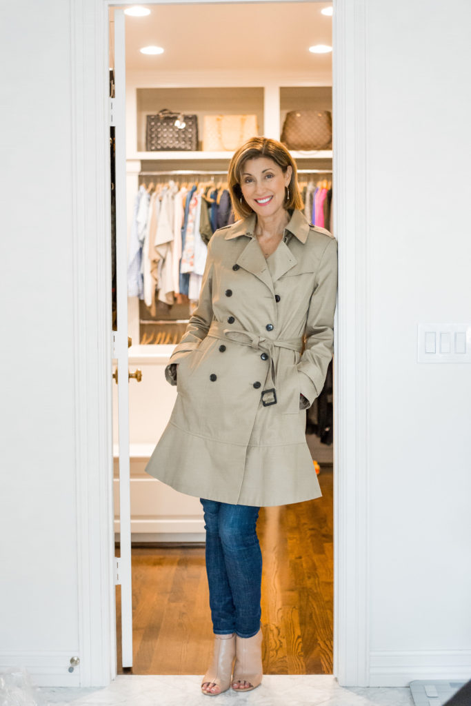 Every wardrobe needs a great trench coat for a fashion update.