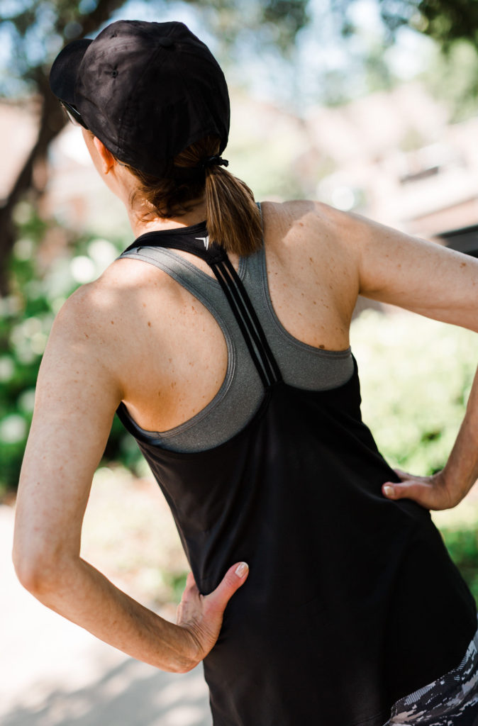 racer back athleisure and what's on sale